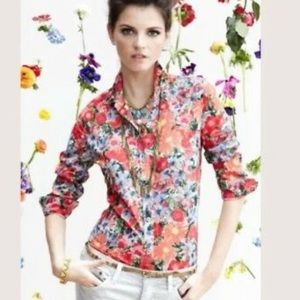 HD in Paris Shirt 00 Hanalei Floral Button Collar